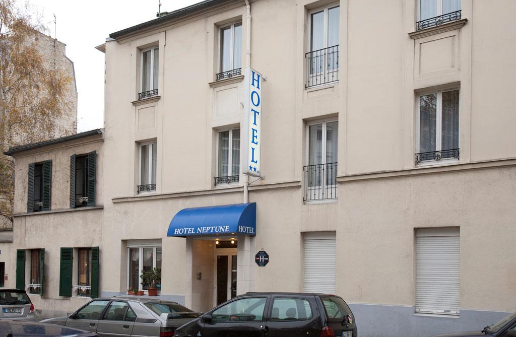 Hotel Neptune Paris |  Fachada